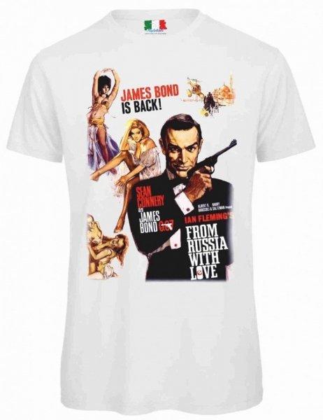 T shirt bianca - Uomo - 007 - Gogolfun.it