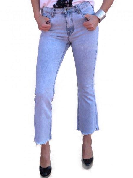 Jeans donna - Jeans a zampa - Jeans chiaro - Gogolfun.it