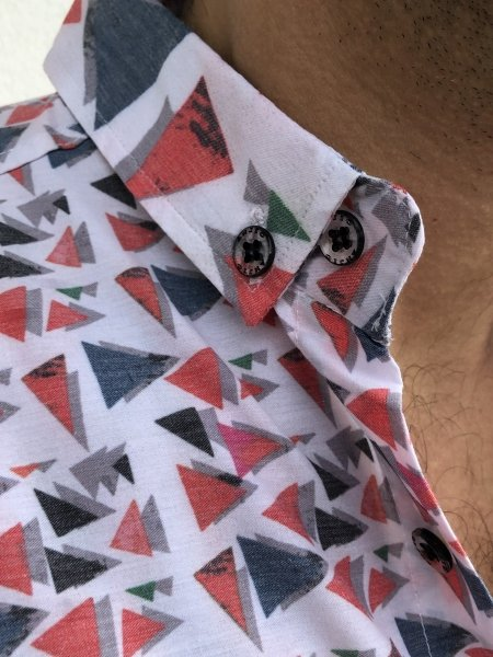 Camicia bianca - Collo Button down -Camicia Gogolfun.it