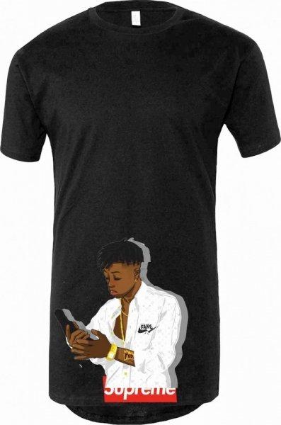 T shirt lunga - Da Rapper - Gogolfun.it