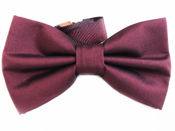 Papillon Uomo -Papillon  Bordeaux - Accessori - Gogolfun.it