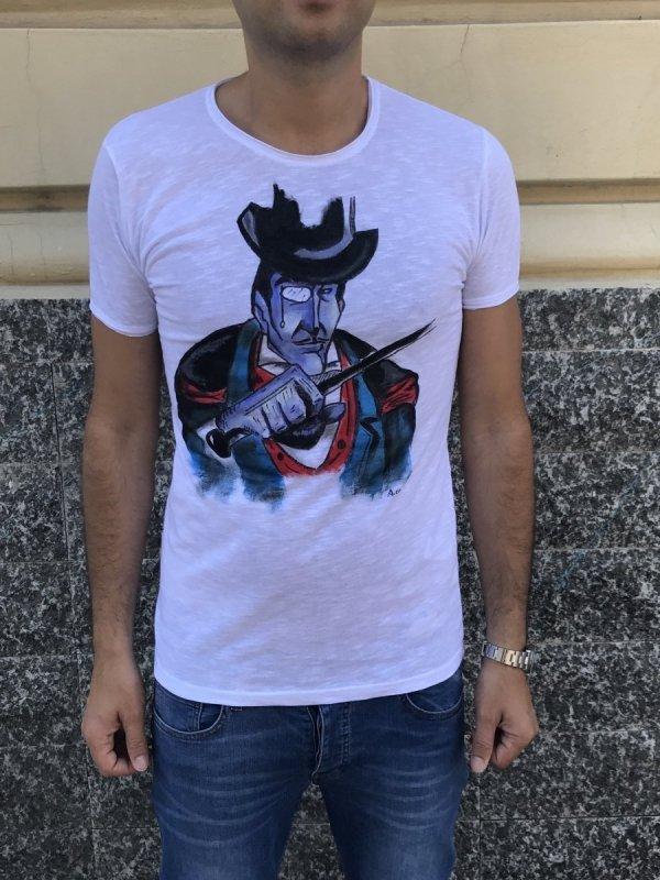 Tshirt - Mister X - 100% Cotone - Gogolfun.it