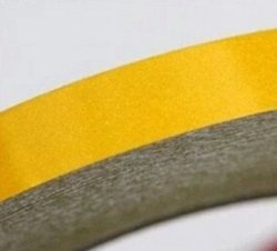 Taśma konturowa żółta 0,02x45,7m