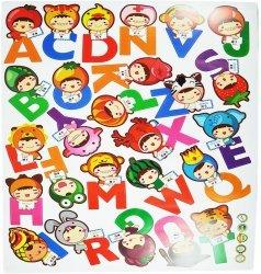 Naklejki ścienne - literki alfabet