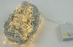 Lampki Choinkowe ZEW/WEW 400 LED 50M ciepły biały