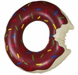 Koło dmuchane Donut 120cm brązowe