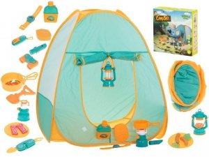 Namiot piknikowy campingowy dla dzieci + akcesoria