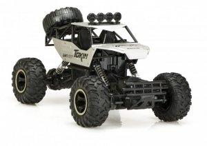 Samochód RC Rock Crawler 1:12 4WD METAL srebrny