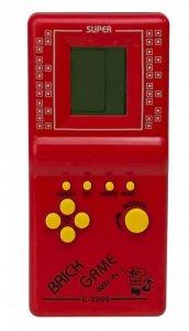 Gra Gierka Eletroniczna Tetris 9999in1 czerwona