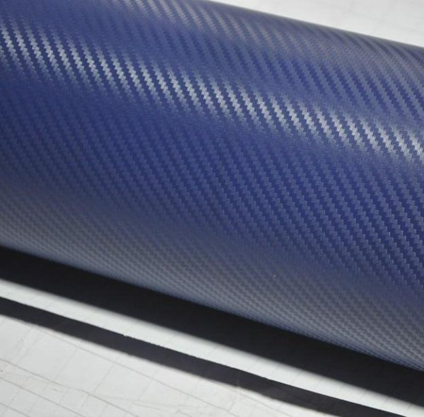 Folia rolka carbon 3D granat 1,27x28m