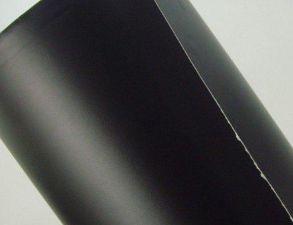 Folia rolka matowa gładka czarna 1,52x30m