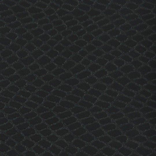 Folia odcinek gadzia skóra czarna wzór krokodyl 1,52x0,1m