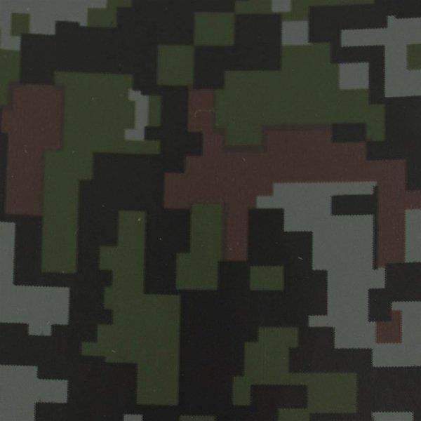 Folia odcinek kamuflażowa ciemne piksele 1,52x0,1m