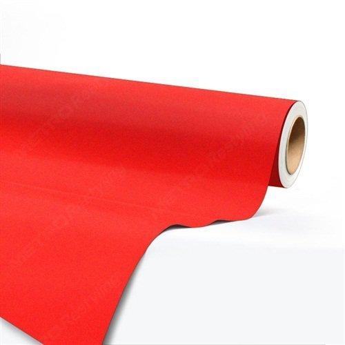 Folia odcinek aksamitna czerwona 1,35x0,1m