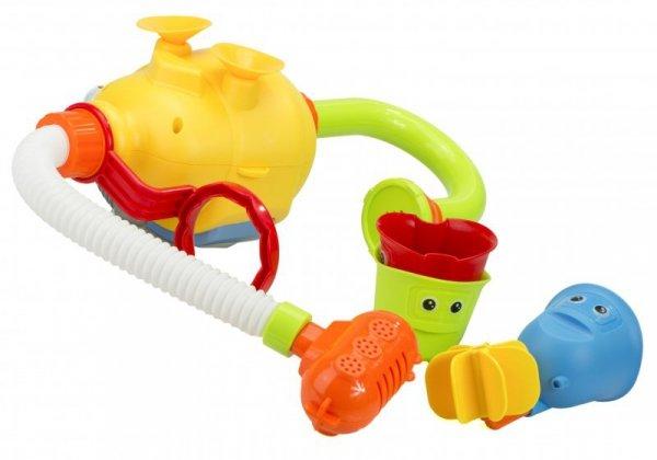 Zabawka do kąpieli nurek prysznic przyssawki młyne
