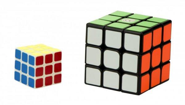 Gra logiczna Kostka x2 zestaw 5,65x5,65cm + 3x3cm