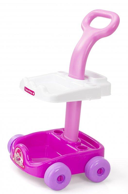 Wózek do sprzątania odkurzacz + akcesoria 5w1