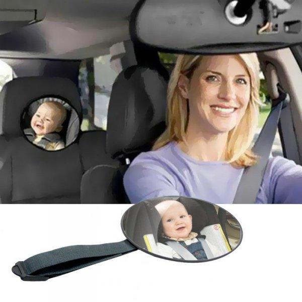 Lusterko bezpieczeństwa do obserwacji dziecka 17cm
