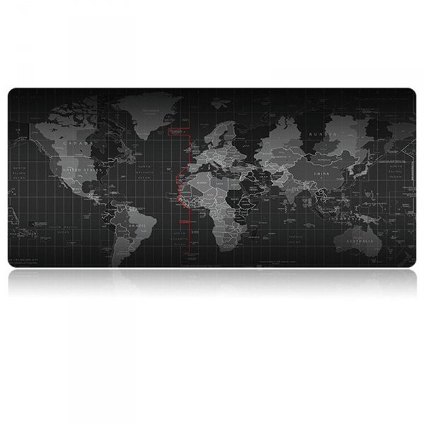 Podkładka na biurko mapa świata 30x80cm