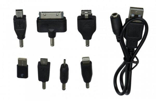 Ładowarka Adapter GSM 8w1 Iphone Micro USB USB-C