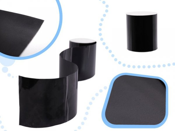 Taśma naprawcza wodoodporna wodoszczelna do rur basenów czarna 150 x 10cm