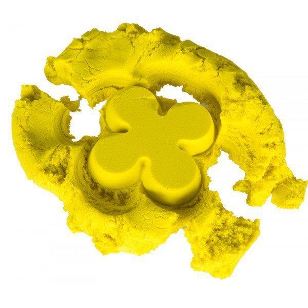 Piasek kinetyczny 1kg w woreczku żółty