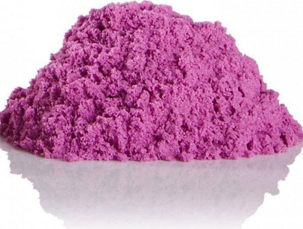 Piasek kinetyczny 1kg w woreczku fioletowy
