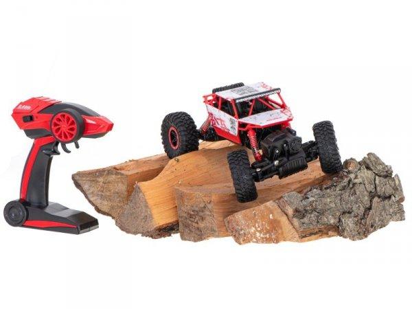 Samochód RC Rock Crawler HB 2,4GHz 1:18 czerwony
