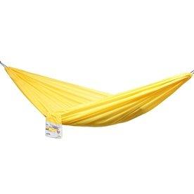 Hamak dwuosobowy 210x140cm campingowy miodowy