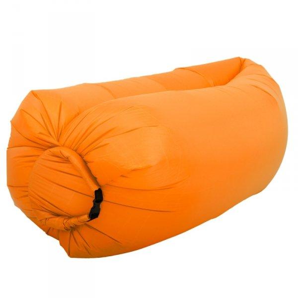 Lazy Bag SOFA materac LEŻAK na POWIETRZE pomarańczowy