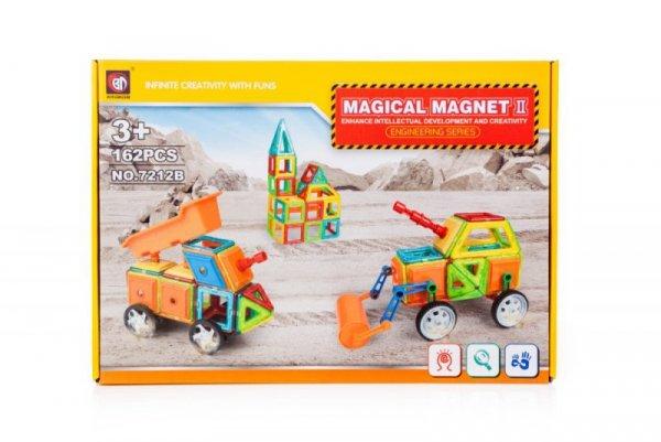 Klocki magnetyczne MAGICAL MAGNET 162SZT 7212B