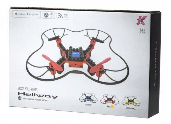 Dron RC z klocków DIY z kamerą WIFI 2.4GHz