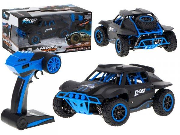Samochód RC Racing Rally 2.4Ghz 4WD czarny 1:18