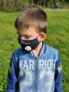 maska przeciwpyłowa dla dziecka kotek