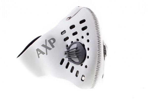 Maska antysmogowa do biegania BASIC szara