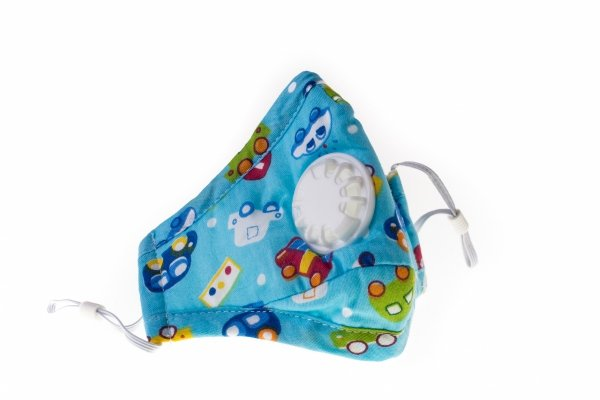 maska antysmogowa dla dzieci samochody