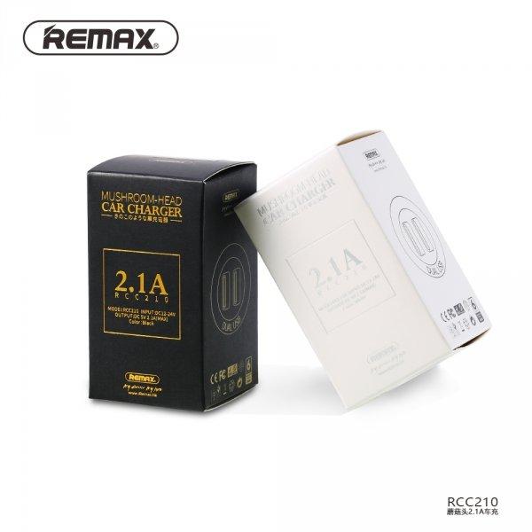 Ładowarka samochodowa USB Remax biała