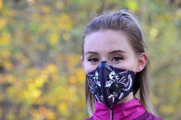 Maska smogowa neoprenowa STYLE 'black tiger'