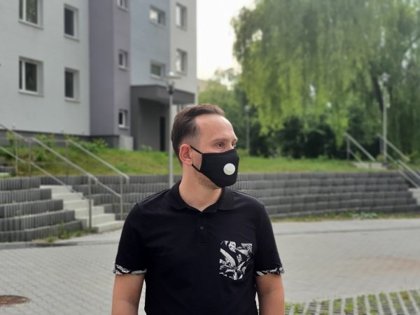 maska antysmogowa do miasta