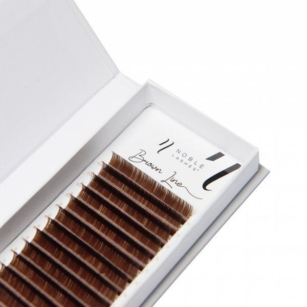 Brown Line Lashes C 0,05 BROWN