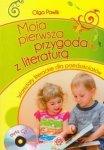Moja pierwsza przygoda z literaturą z płytą CD Warsztaty literackie dla przedszkolaków