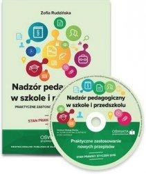 Nadzór pedagogiczny w szkole i przedszkolu - praktyczne zastosowanie nowych przepisów