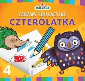 Zabawy edukacyjne czterolatka