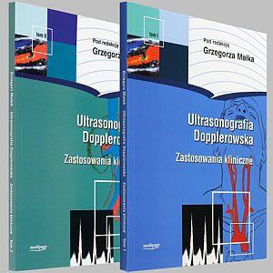 Ultrasonografia dopplerowska Zastosowania kliniczne tom 1 + tom 2 + CD Komplet