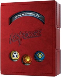 Gamegenic: KeyForge - Deck Book Red