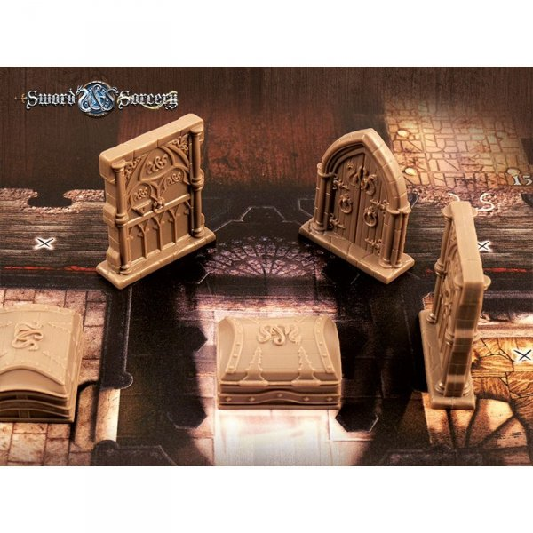 Sword & Sorcery: Plastikowe drzwi oraz skrzynie