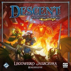 Descent: Legowisko Jaszczura (dodatek)