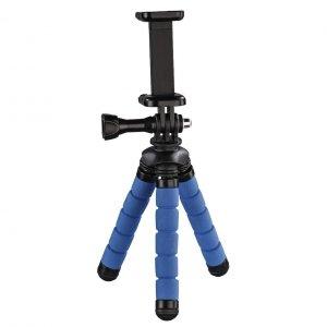 Statyw Hama mini Flex 2w1 14 cm, niebieski