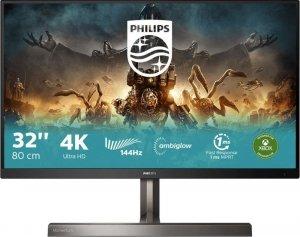 """Monitor Philips 31,5"""" 329M1RV/00 4K UHD 3xHDMI DP 4xUSB 3.2 1xUSB-B 1xUSB-C głośniki"""