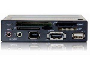 Frontpanel Delock MULTI USB/AUDIO/ESATA/FIREWIRE/CZYT. 43IN1